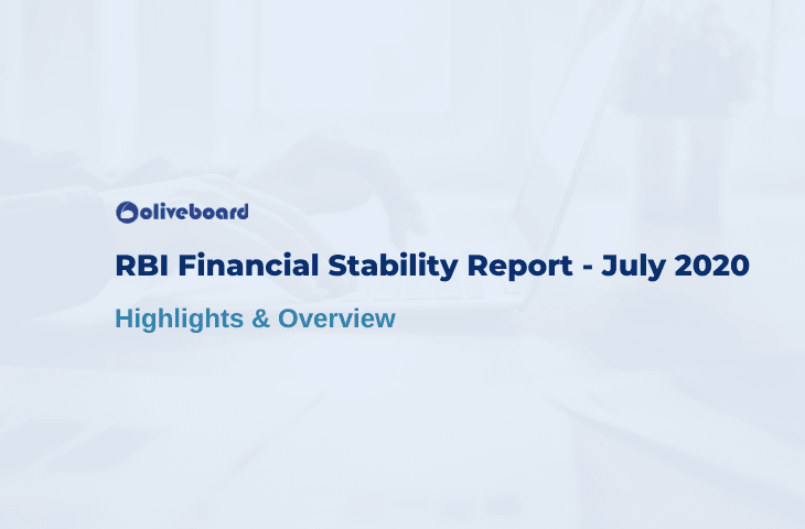 RBI Financial Stability Report, July 2020 - Highlights & Overview
