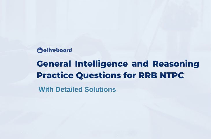 RRB NTPC General Intelligence and Reasoning questions