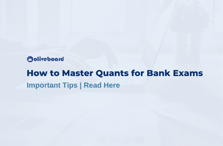 Quant for bank exams