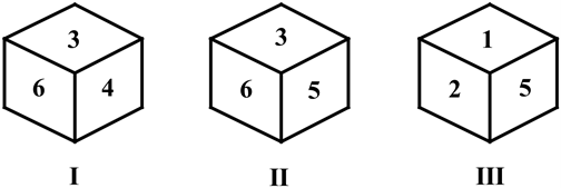 Cube and dice questions