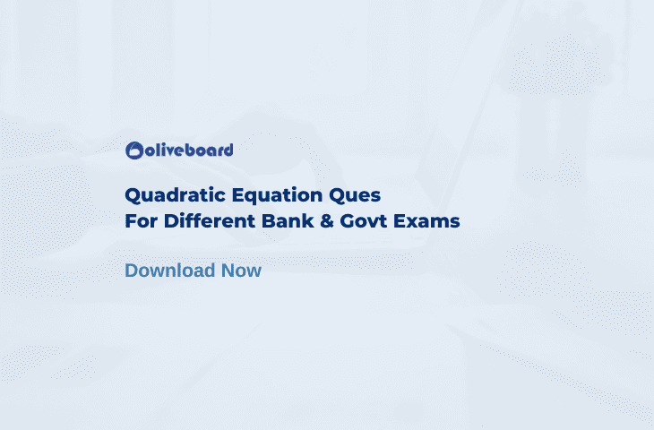 Quadratic Equation Questions