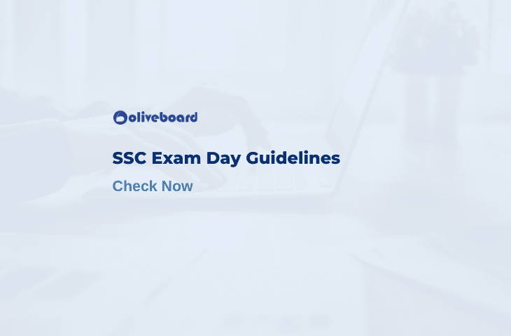 ssc exam day guidelines