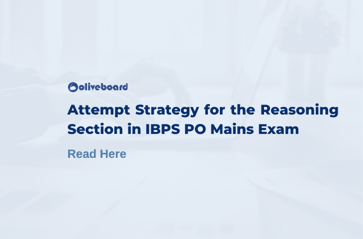 Attempt Strategy for Reasoning Section in IBPS PO Mains
