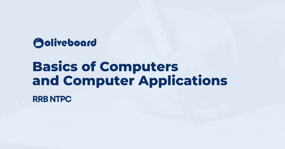 Basics of Computers and Computer Applications