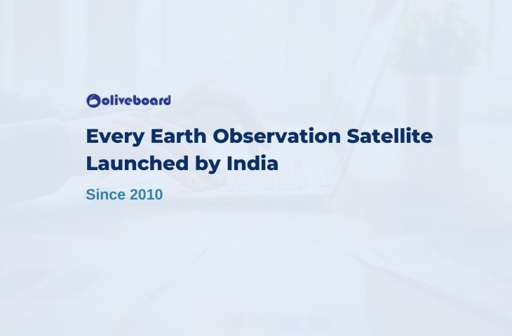 Every Earth Observation Satellite Launched by India