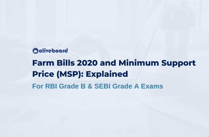 Minimum Support Price and Farm Bills 2020