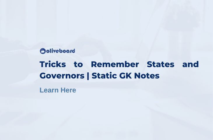 Tricks to Remember States and Governors