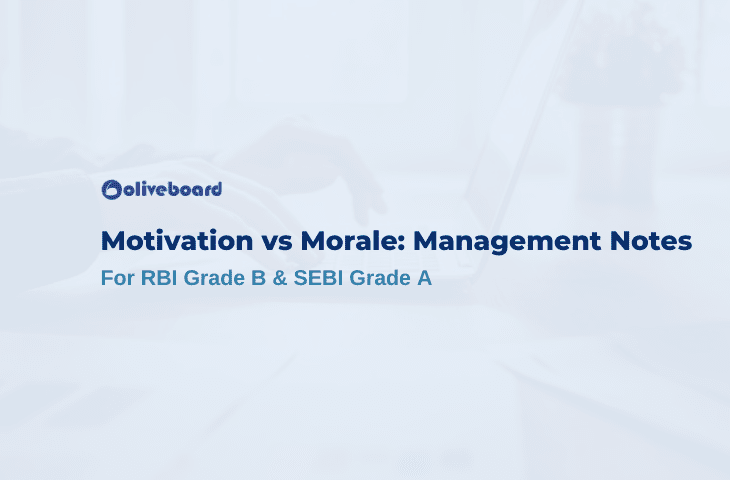 Motivation vs Morale
