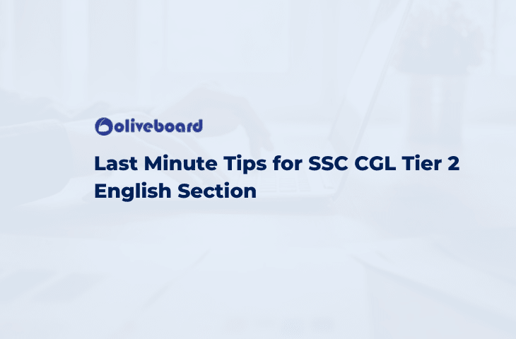 Last Minute Tips for SSC CGL Tier 2 English
