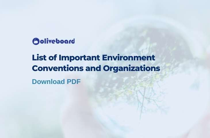 Environment Conventions and Organisations (1)