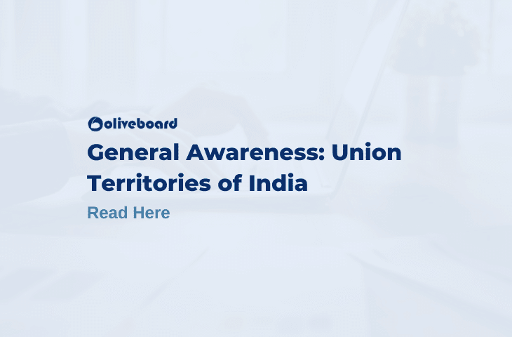 Union Territories of India for competitive exams