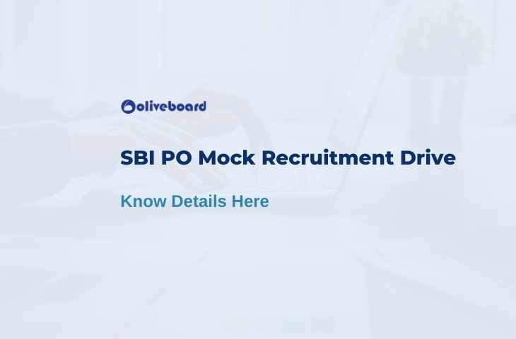 SBI PO Mock Recruitment Drive
