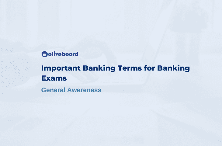 banking terms for bank exams