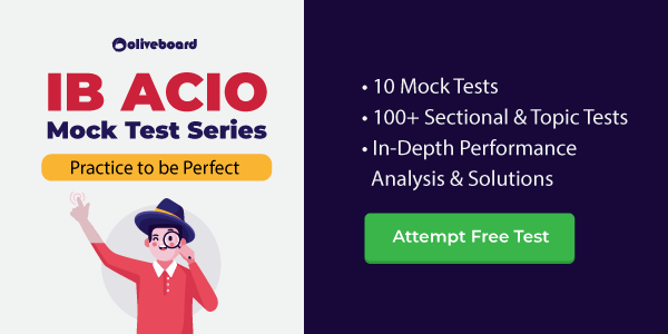 IB ACIO mock test series