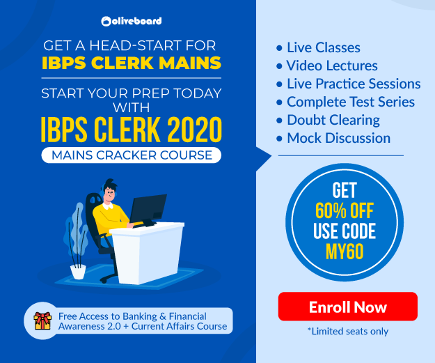 ibps clerk mains course promo