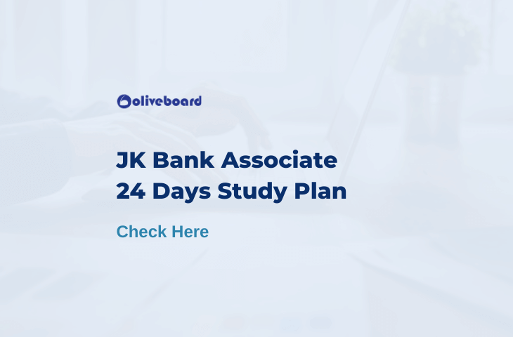 jk bank study plan