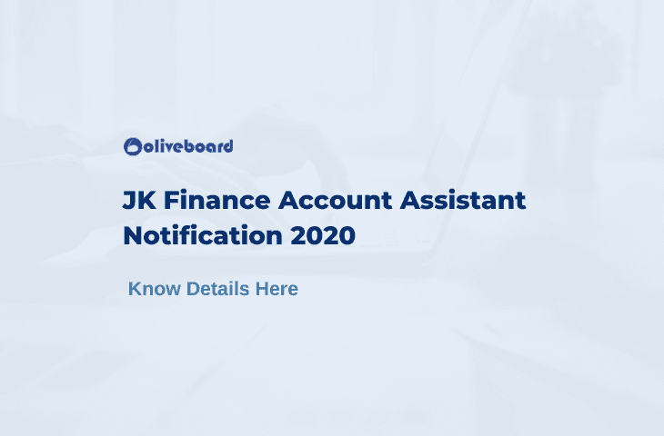 JKSSB Finance Account Assistant Notification