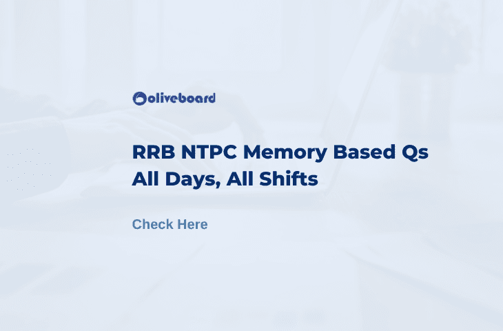 RRB NTPC Memory Based Questions