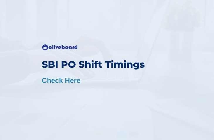 sbi po shift timings