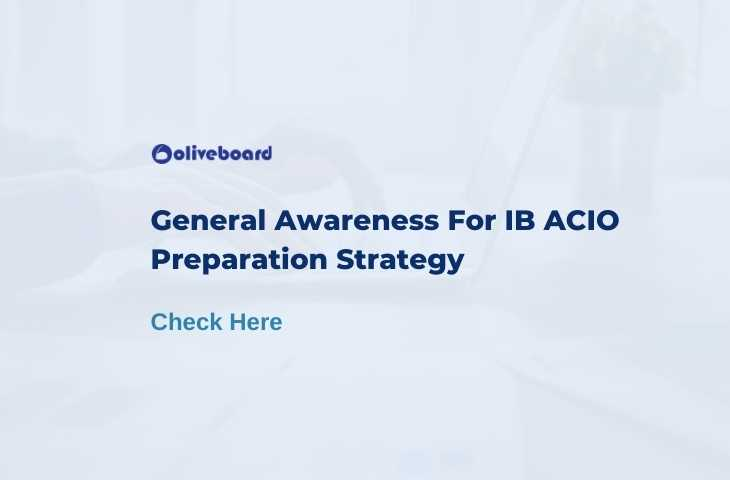 general awareness for ib acio