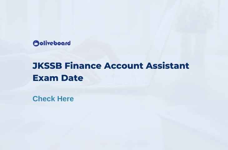 jkssb finance account assistant exam date