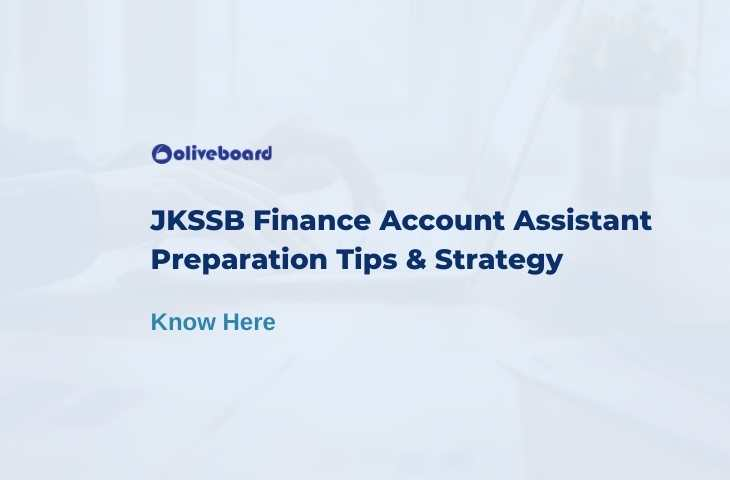 jkssb finance account assistant preparation strategy