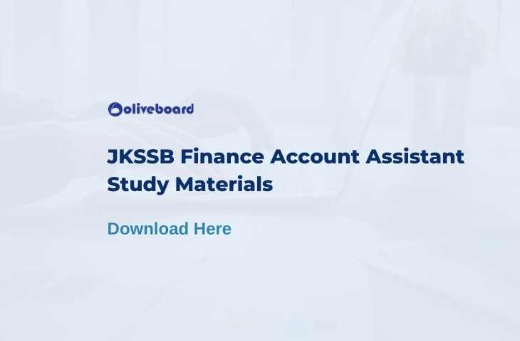 jkssb finance account assistant study material