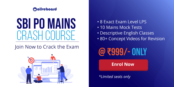 sbi mains course