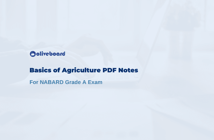 Basics of Agriculture PDF Notes