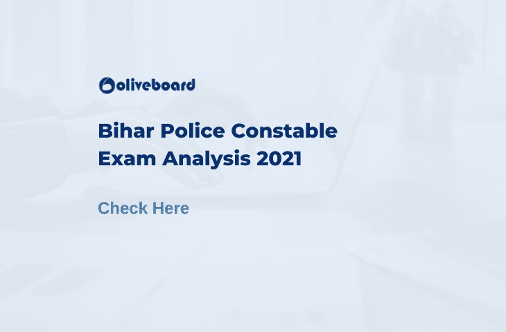 Bihar Police Constable Exam Analysis