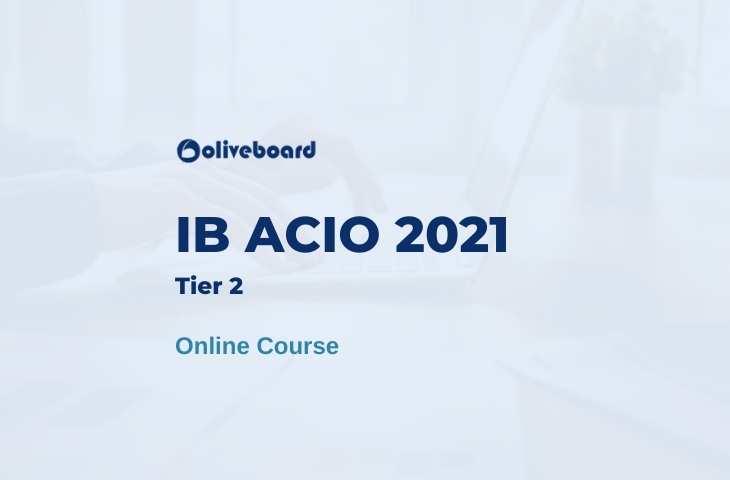 ib acio tier 2 online course