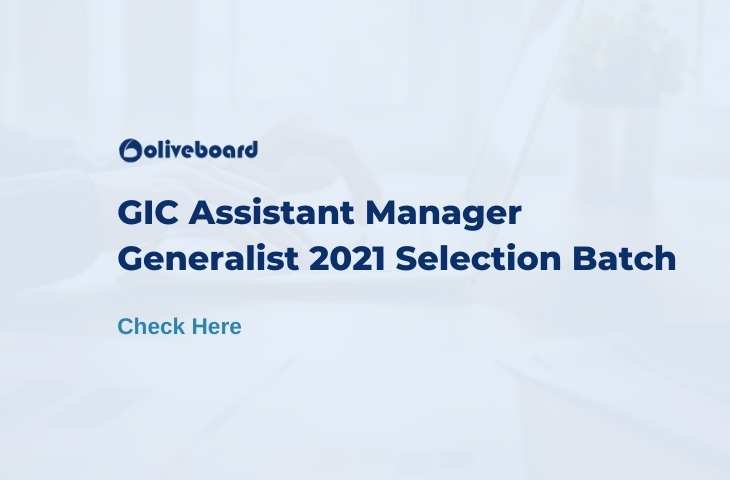 GIC Assistant Manager Coaching