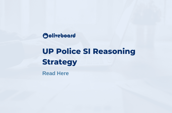 UP Police SI Reasoning
