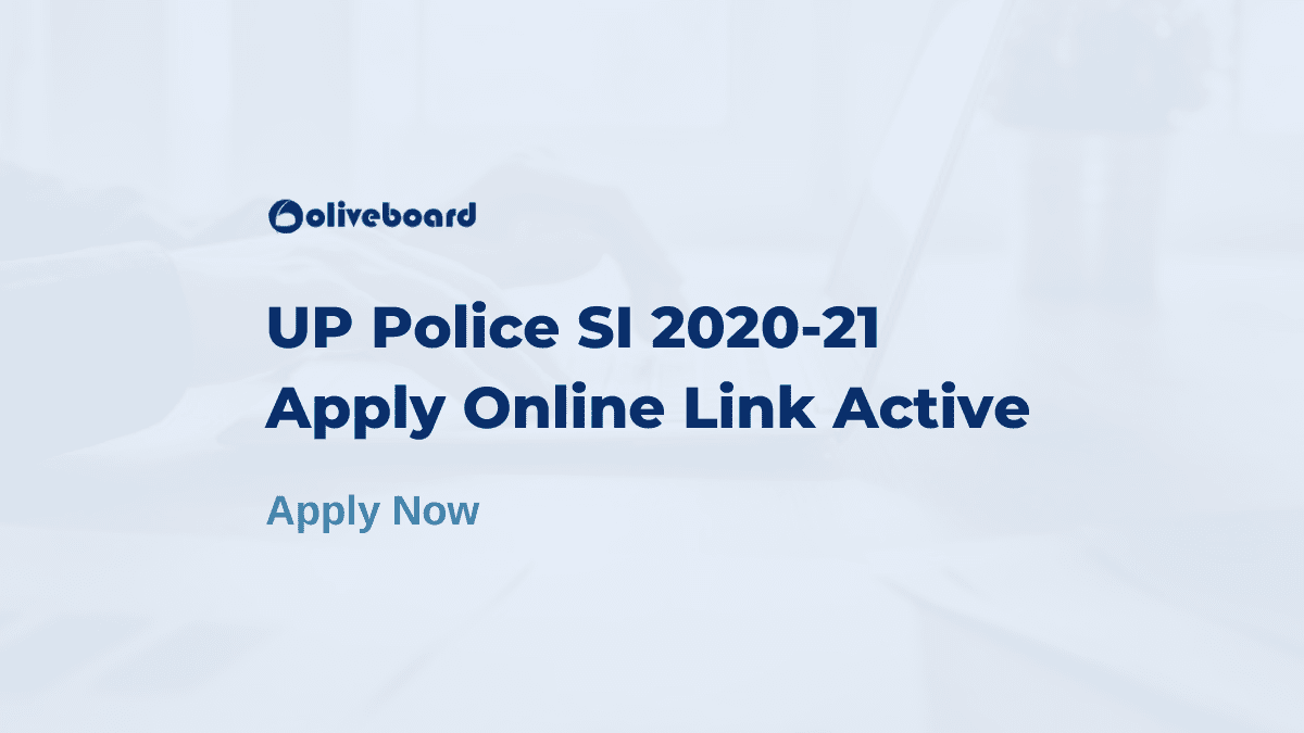 up police si apply online