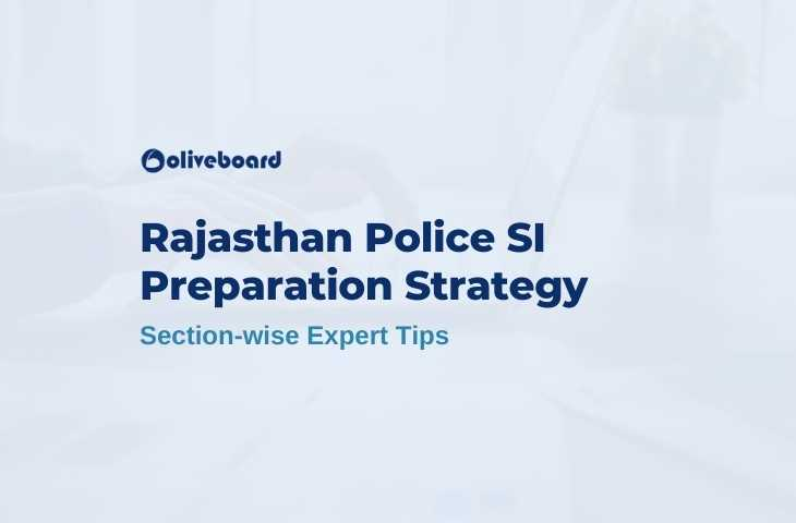 Rajasthan Police SI Preparation Strategy