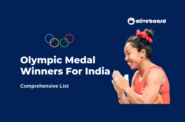 Olympic Medal Winners For India