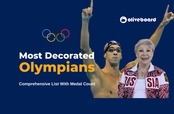 most decorated Olympians