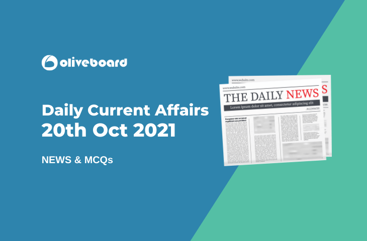 Daily-Current-Affairs-20th-Oct-2021