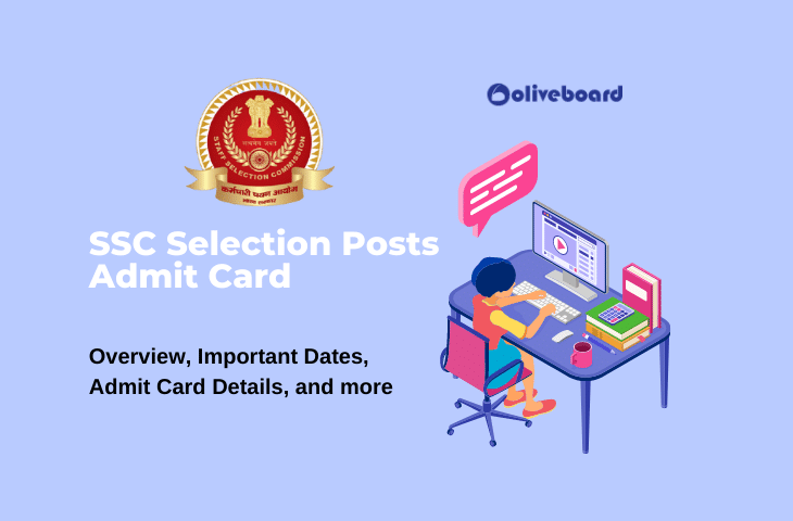 SSC Selection Posts Admit Card